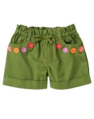 GYMBOREE TROPICAL BLOOM MULTI COLOR FLORAL WOVEN SHORTS 3 4 5 6 8 NWT