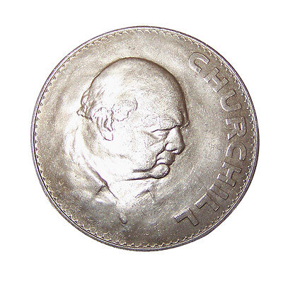Churchill Crown 1965 Uncirculated Very Good Condition (Some Minor Bag Marks)