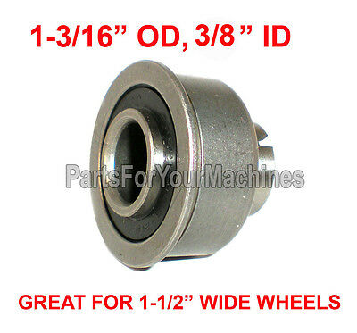 "SEALED BEARING, FLANGED, PRECISION, 1-3/16"" OD x 3/8"" ID, FOR 1-1/2"" WIDE WHEELS"