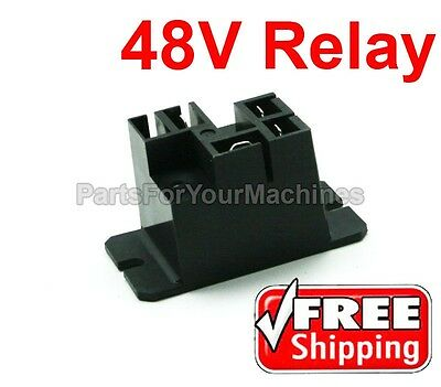 Battery Charger Relay, 30A, 48V, Potter & Brumfield, T9Ap1D52-48-01, Forklifts