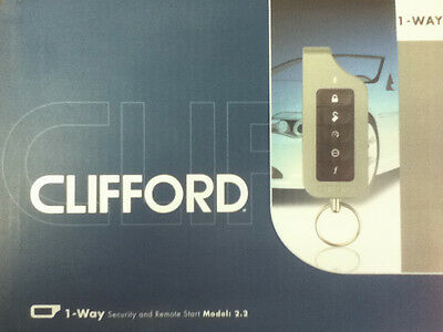 Clifford 1Way Security And Remote Start Model:2.2