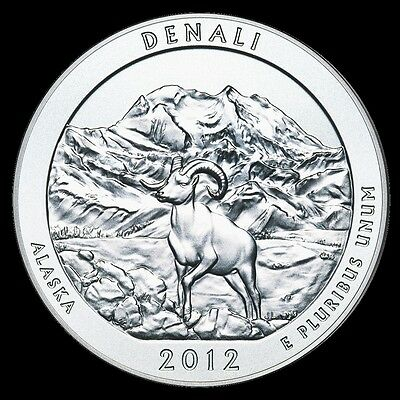 2012 P D S Denali Alaska National State Park Quarter New Set Bu Mint Pds Atb N85