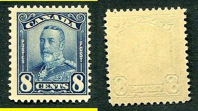 MNH Canada 8 Cent KGV Scroll Stamp #154 (Lot #5332)