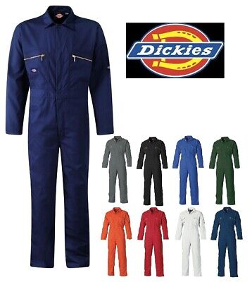 Mens Dickies Redhawk Zip Front Coverall Overalls Boilersuit Wd4839 Sizes 34-60''