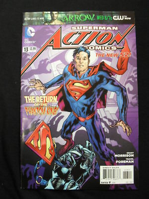 Action Comics #13 (Dc Comics) Boarded. Free Uk P+P. New