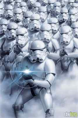 Star Wars Storm Troopers Princess Poster New Fp2349 (W9)