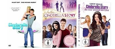 DVD Set * Cinderella Story + Another Cinderella Story + Es war einmal ein Lied