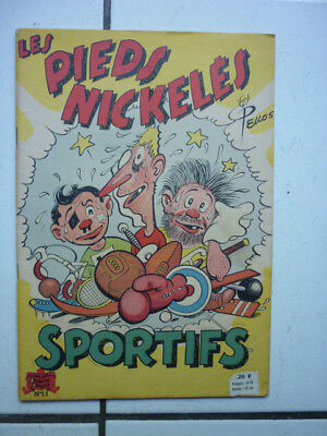 Pellos / Les Pieds Nickeles 13 / Sportifs  /  1949  Eo