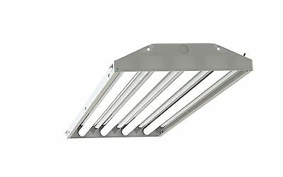 4 Lamp T5HO Fluorescent High Bay Lighting Fixture Multi Voltage 120 277V