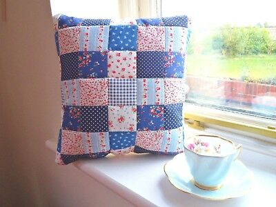 Patchwork Quilting Kit Cushion Craft Cotton Easy Beginner Sewing Project  SALE!