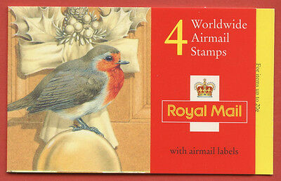 LX8 1994 £2.40 Robins Christmas Folded Booklet