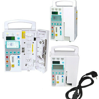 Infusion Pump- IV & Fluid equipment with voice alarm monitor CE for vet or human