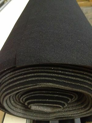 "Auto Headliner Upholstery Fabric Kit with Glue 120 "" x 60 "" Black"