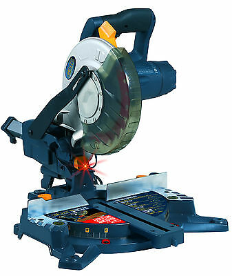 GMC NEW 1400w Compact Slide Sliding Compound Mitre Saw 210mm Global Machinery Co