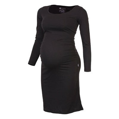 Long Sleeve Maternity Dress - work style dress by Born Maternity