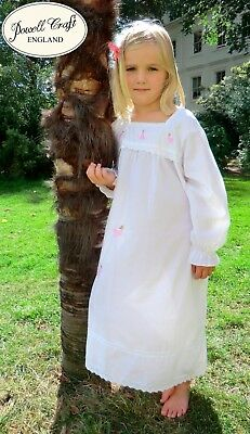 Girls Fairy Angel Nightie Nightdress BNWT Powell Craft Maddie Age 1-12 Cotton