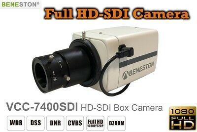 HD-SDI 1080P Full HD Box Camera /WDR/DNR/Digital Zoom/CCTV Security