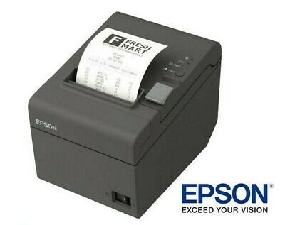 EPSON TM-T20 Serial Port POS THERMAL RECEIPT PRINTER w/ Auto Cutter C31CB10051