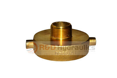 "Fire Hydrant Adapter 2-1/2"" NST(F) x 1"" NPT(M)"
