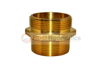"""Fire Hydrant Adapter 2-1/2"""" Npt(M) X 2-1/2"""" Nst(M)"""
