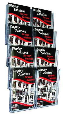 Wall Mounted Brochure Holder A4x8