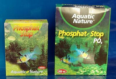 AQUATIC NATURE PHOSPHATE STOP 300 ml anti algue anti PHOSPHATES PHOSPHAT • EUR 4,99