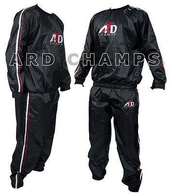 Heavy Duty Sweat Suit Sauna Exercise Gym Suit Fitness Weight Loss Anti-Rip