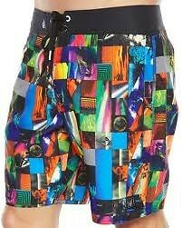 Volcom Stretch Multi Colour LBN MOD Mens Boardshorts Boardies Shorts RP$69.99