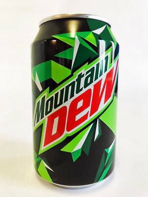 72 BLIKKEN MOUNTAIN DEW KULT DRINK  ( 72 x 0,33liter cans)
