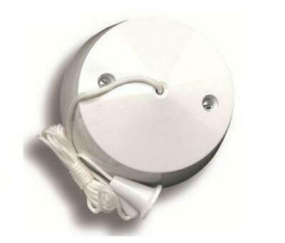 Pull Cord Ceiling Switch 10amp 2 Way Bathroom Toilet
