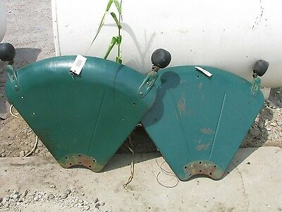 Oliver 77-88 Set of Fenders with Lights ID #0953