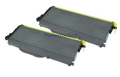 2PK Brother TN360 High Yield Black Toner Cartridge for DCP-7040 Printer