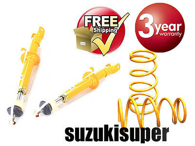 Ford Falcon AU Front Shock & Spring Suspension Kit Super Low Height