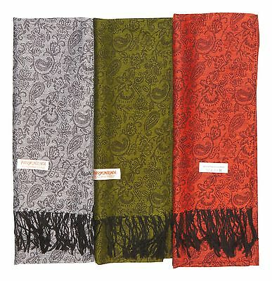 12 NEW 100% Women Pashmina Soft Shawl Scarf Stole Wrap Fashion Wholesale Lot