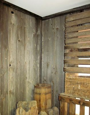 ANTIQUE, RECLAIMED Unpainted, Weathered Brown or Gray Barn Siding or Barn Wood