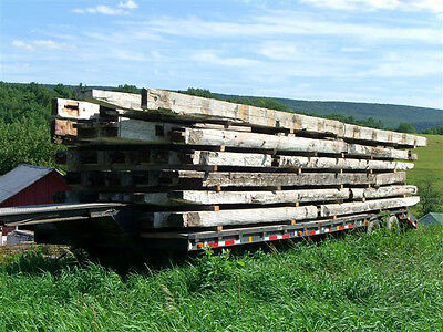 ANTIQUE, RECLAIMED Sawn and Hewn Building Materials