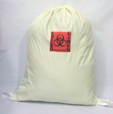 Medical Grade Fluid/waterproof Barrier Laundry Bag -Soiled Linen/biohazard  Ylw