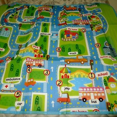 BRAND NEW PLAY MAT Baby Care Crawl Mat Water Proof Home Kids 1.3m*1.6m OZ PM6