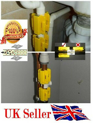 Magnetic Water Improvement Conditioner Limescale Descales x 2 PAIRS