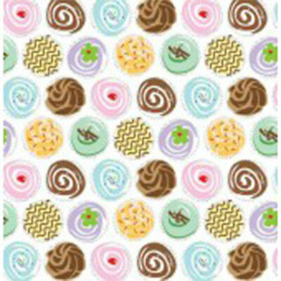 Cupcakes Print Tissue Paper Multi Listing 500x750mm