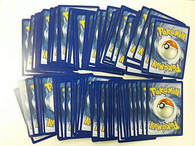 POKEMON LOTTO 100 Carte Miste in Inglese Tutte Diverse