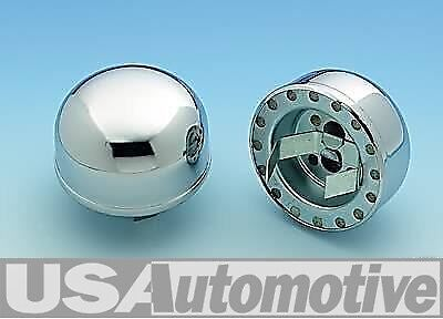 "Chevy Chrome Push On Oil Breather Cap 2-3/8"" Wa4802"