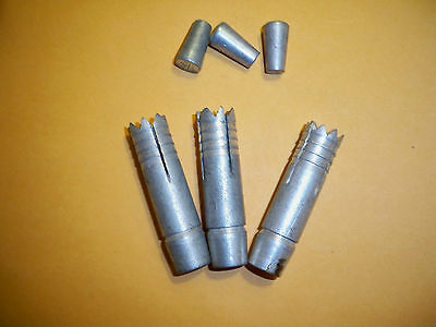 Phillips 5//16 Self drilling concrete anchors with wedges Qt of 25  NOS