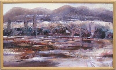"""R Bolton Smith """"Camp Verde"""" Original Oil Painting on Canvas, MAKE OFFER!"""