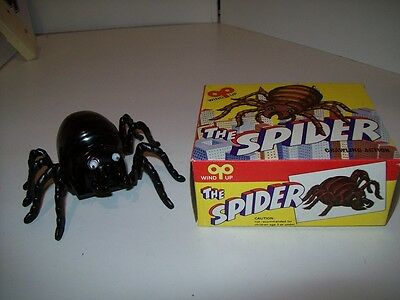 The Spider Vintage Wind Up Spider New And Rare Crawling Action