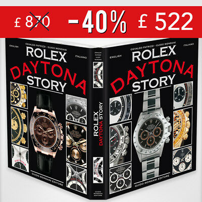 Rolex Daytona Story book.Limited edition of 2000 copies.