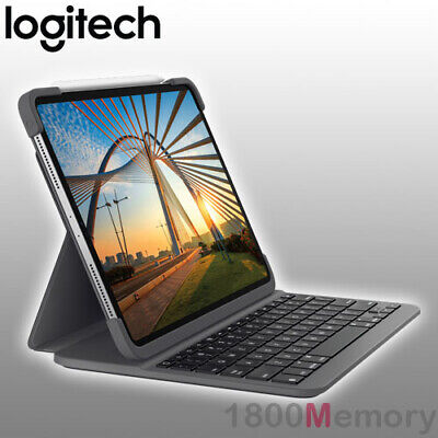 "GENUINE Logitech Create Backlit Keyboard Case for Apple iPad Pro 12.9"" Black"