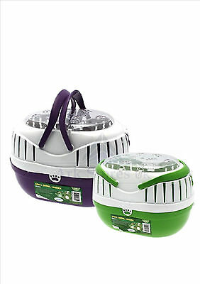 Happy Pet Small Animal Plastic Travel Carrier Hamster Mice Guinea Rat Free Post