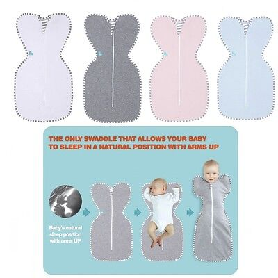 Love to Dream Swaddle UP Original Baby Hands Up Swaddle Blanket Birth to 11kg