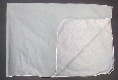 Light Blue Cotton Fender Cover  38X55- Made In The Usa